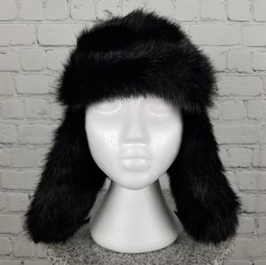 ASOS   faux fur trapper winter hat